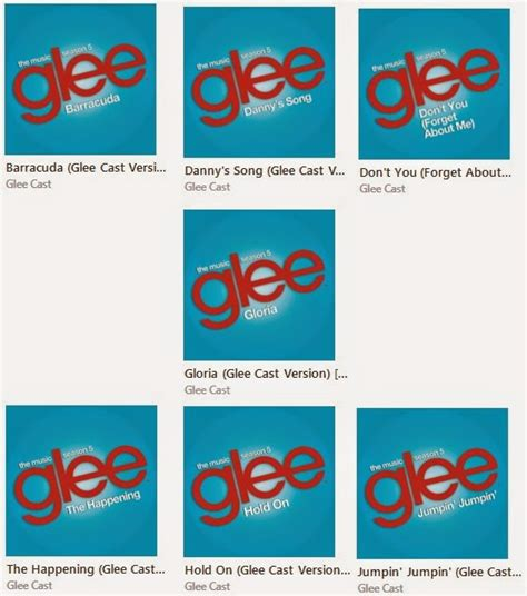 formato aac glee downloads glee s05e10 quot trio singles quot aac m4a