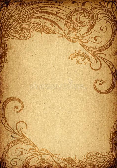 grunge floral background stock illustration illustration of background 4750703