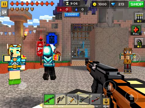 pixel gun 3d mod apk android hvga and qvga pixel gun 3d 9 0 5 mod apk data unlimited coins gems