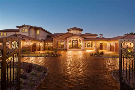 waterfront luxury home lake travis mediterranean
