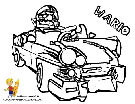 super mario 64 colouring pages