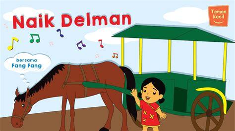 Kasur Animasi Anak lagu anak indonesia nursery rhymes naik delman