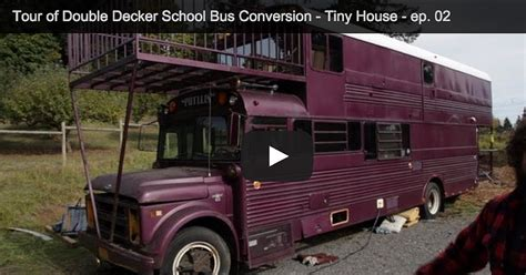 5th Wheel Rv Floor Plans Tour Of A Double Decker Bus Conversion