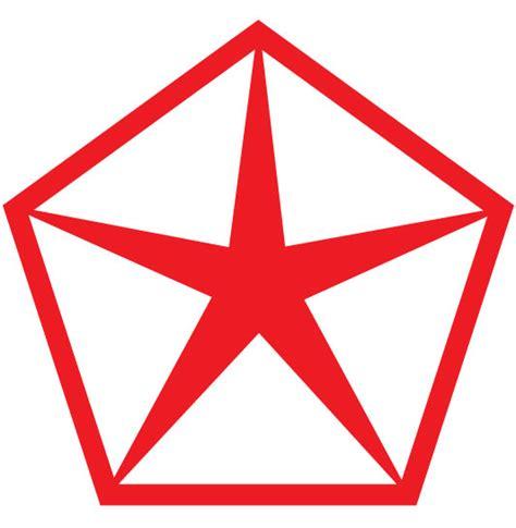 Chrysler Pentastar Logo by Chrysler Plymouth Cartype