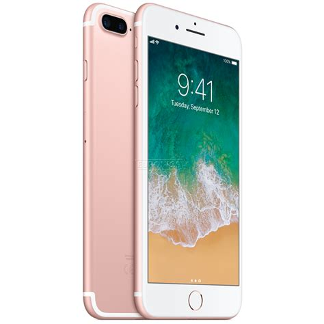 smartphone iphone 7 plus apple 128 gb mn4u2et a