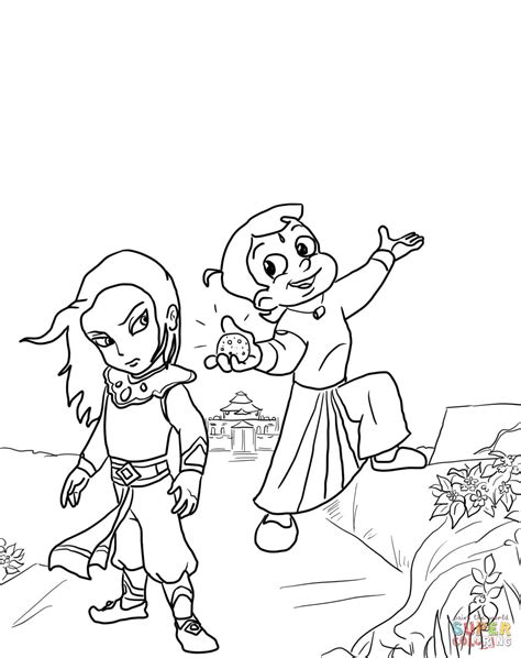 chhota bheem coloring pages games chhota bheem and the throne of bali coloring page free