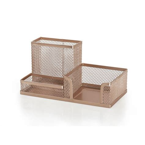 rose gold desk l the 25 best ideas about desk tidy on pinterest