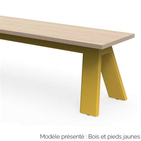 Banc Bois Design by Banc Design En Bois Et M 233 Tal Personnalisable Int 233 Rieur