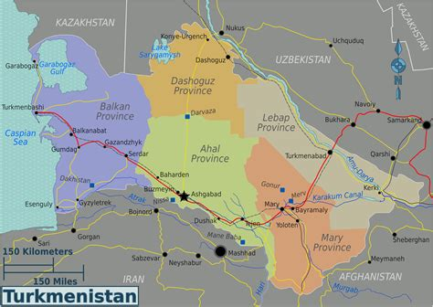 turkmenistan physical map maps of turkmenistan map library maps of the world