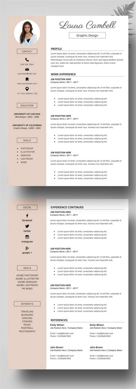 reference job template resume references format for beautiful idea