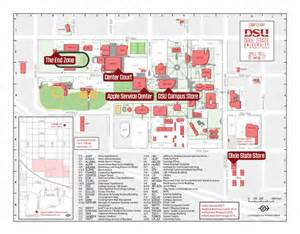 Dixie State University Map by Campus Map