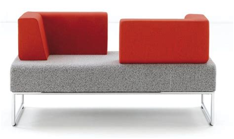pause bench pause bench sofa with opposing corner backs office reality