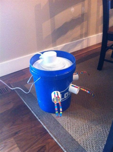how to make a 5 gallon bucket air conditioner diy