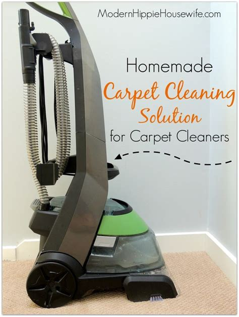carpet cleaning solution for carpet cleaners