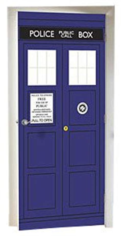 tardis wall mural doctor who the tardis box door cling decal mural co uk kitchen home