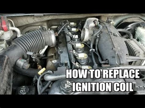 service manual [how to replace ignition coil for a 2002