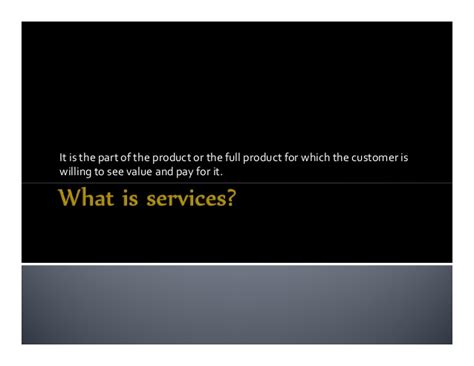 Service Marketing Notes For Mba by 07 Service Marketing