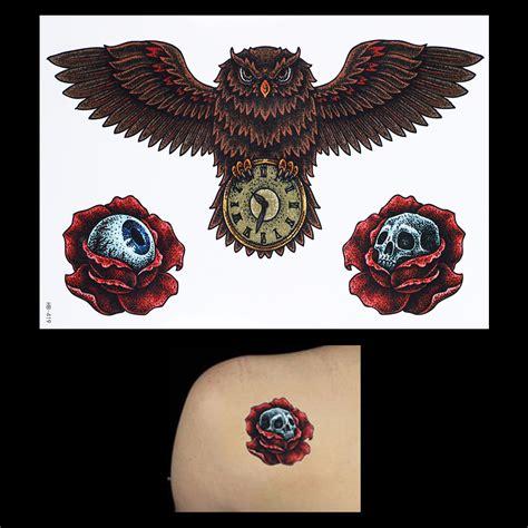 tattoo owl di dada 3d tatuagens fotos popular buscando e comprando