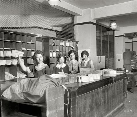 the mail room shorpy historic picture archive mailroom 1924 high resolution photo