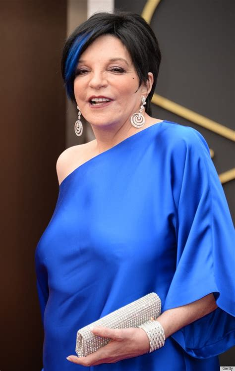 Liza Minnelli's Blue Hair At The Oscars Puts All Those