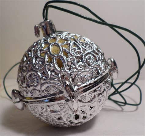 chirping ornament old silver ornament chirping bird