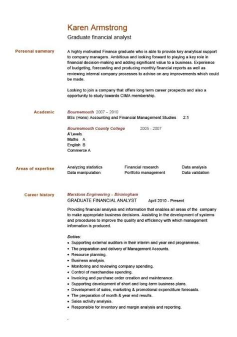 resume sle template why chronological is popular for writing cv