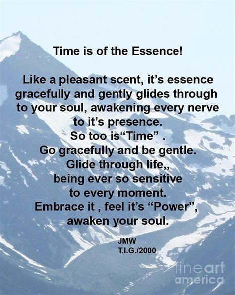 Time Is Of The Essence by Time Is Of The Essence Photograph By Whyte