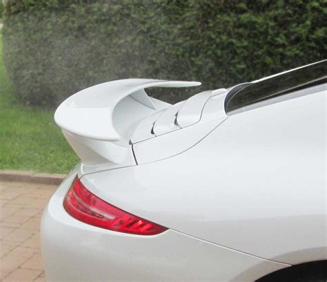 porsche 911 carrera gts spoiler 2012 2015 porsche 911 991 turbo style 2pc rear wing spoiler