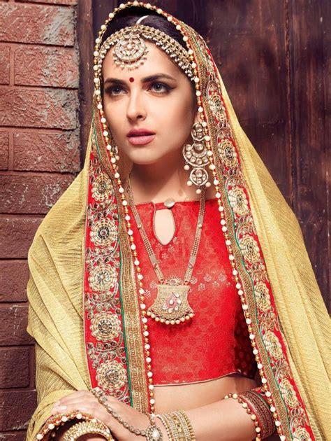 India Wedding Designs Bridal Styles And Fashion February 2009 | indian wedding saree latest design 2017