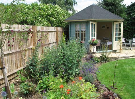 garden summer house designs border with summer house karen tizzard garden design