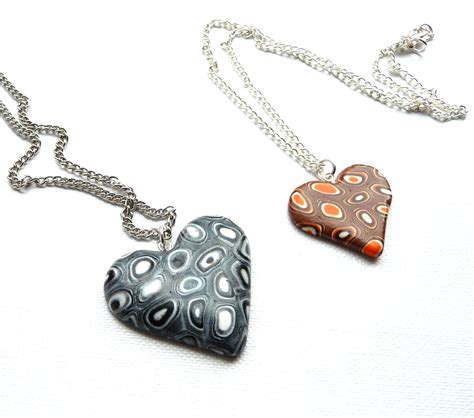 how to make dough jewelry polymer clay necklace p designs