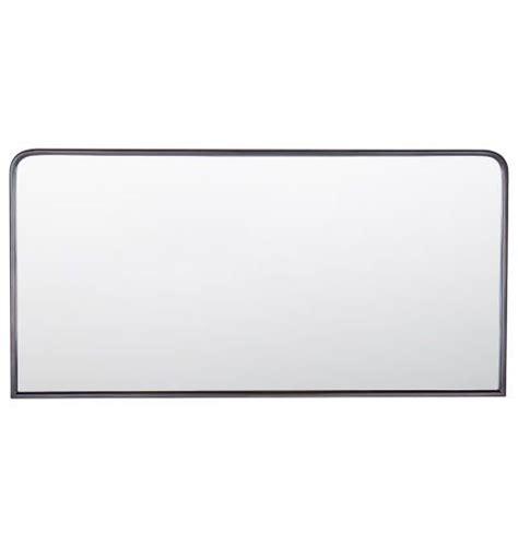 rounded corner bathroom mirror metal framed mirror rounded rectangle rubbed bronze rejuvenation bathroom design