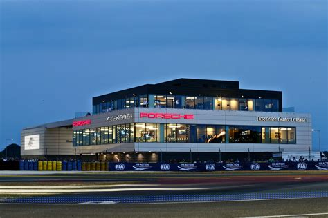 Porsche Center by Porsche Inauguration Officielle Du Porsche