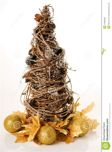 willow christmas tree royalty free stock photos image