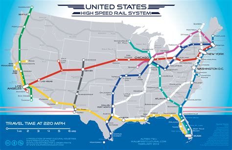 railroad map usa america s high speed rail what it could look like
