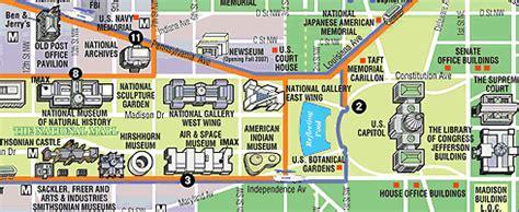 washington dc map landmarks washington dc map monuments maps of usa