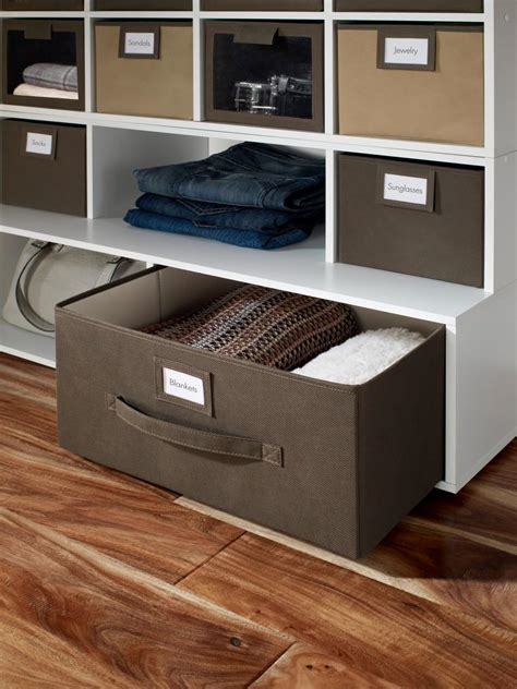 clever storage systems for your basement hgtv