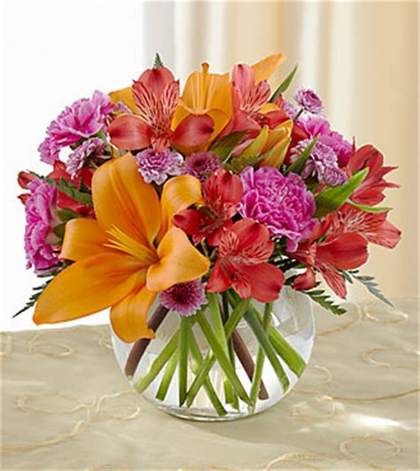 Glass Bubble Vase The Light Of My Life Bouquet By Ftd 174 Vase Included