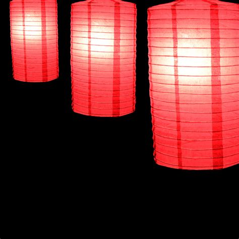 How To Make Cylinder Paper Lanterns - 8 quot fuchsia cylinder paper lantern ebay