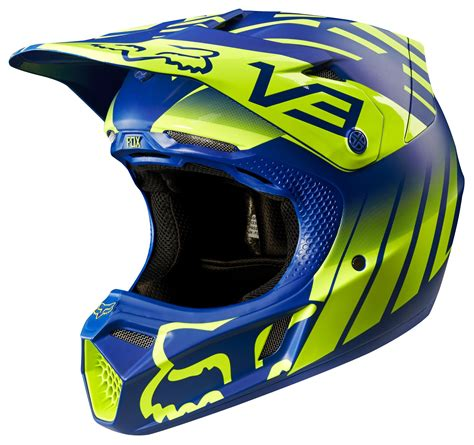 fox motocross helmets sale fox racing v3 savant le helmet revzilla