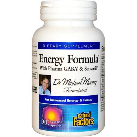 energy pattern factor formula natural factors energy formula with pharma gaba