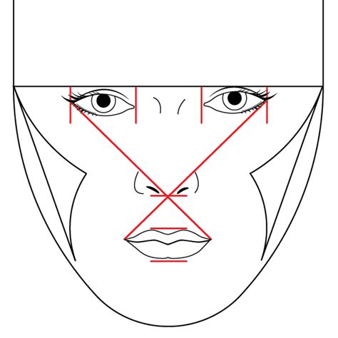 draw nose illustrator gallery for gt drawing female face 34