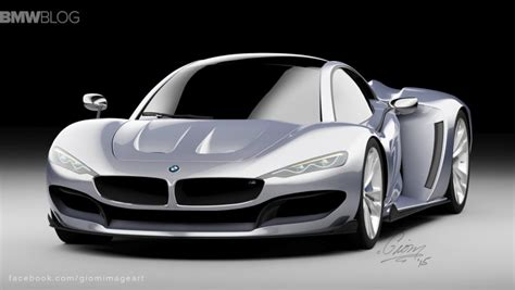 bmw hypercar rendering bmw hypercar to compete with mclaren p1 and