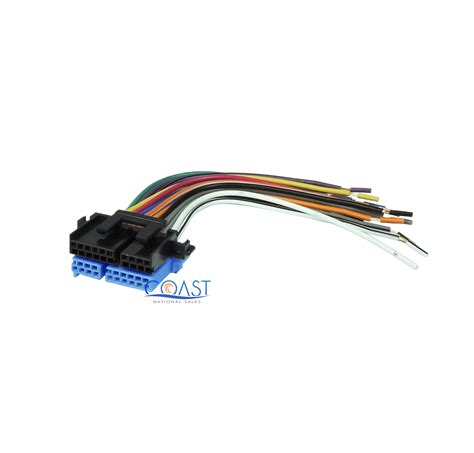 car stereo wiring harness to factory radio 1988 2005 buick