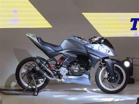 Ktm At Auto Expo 2016 by Tvs Bikes At Auto Expo 2016 Tvs At Delhi Auto Expo