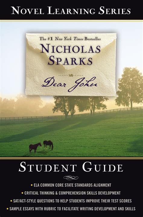 Dear Nicholas Sparks nicholas sparks uk work