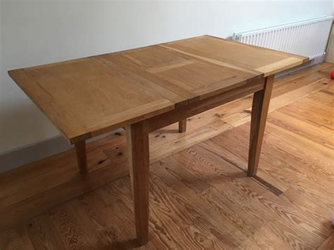 Oak Dining Table Sale Extendable Oak Dining Table For Sale In Bray Wicklow From Paddileinster