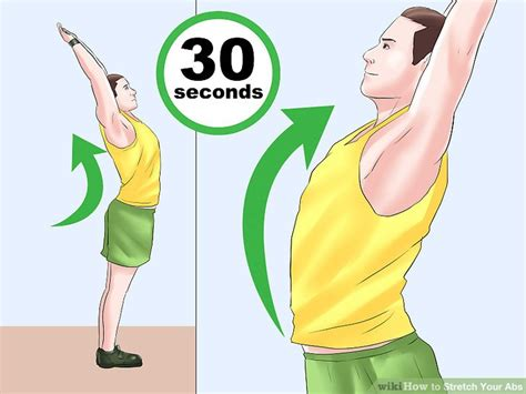 3 ways to stretch your abs abdominal muscles wikihow