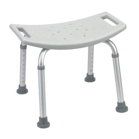 drive grey bathroom safety shower tub bench chair
