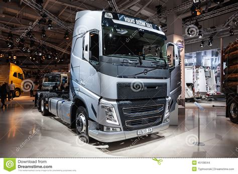 volvo trucks germany volvo fh truck editorial stock image image of